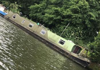 65ft Narrow Boat 2 Berth Liveaboard 2001