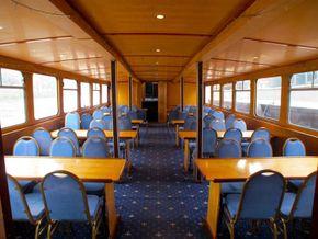Passenger Trip Boat 36m  - Saloon