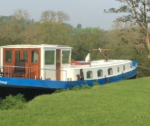 65' Piper Dutch barge