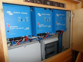 Victron Phoenix Multis and switchgear