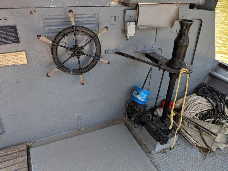 1948 39' X 12.7' Steel Paasch Trapnetter