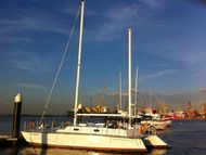 39-foot trimaran, priced to sell.