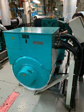 volvo generators from ship breaking yard