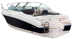 Swim ladder and transom access of the