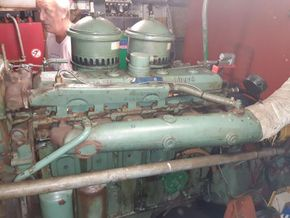 Dutch Barge 27.65 Well equiped liveaboard with TRIWV valid until nov 2023 - Engine