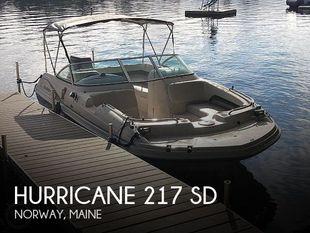 2002 Hurricane 217 SD