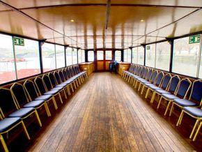 Passenger Trip Boat 36m  - Looking Forward