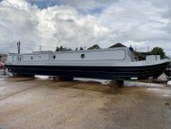 57ft Paul Widdowson 2008 Trad narrowboat