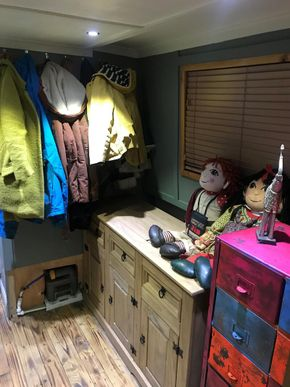 Spare bedroom or more storage space