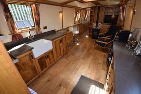 Galley from steps