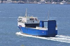 105mt RORO CARGO FERRY FOR SALE