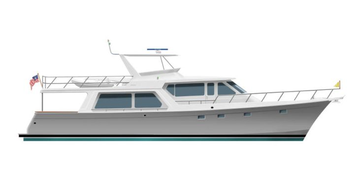 2020 Offshore Yachts Pilothouse