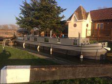 Dutch style narrow boat