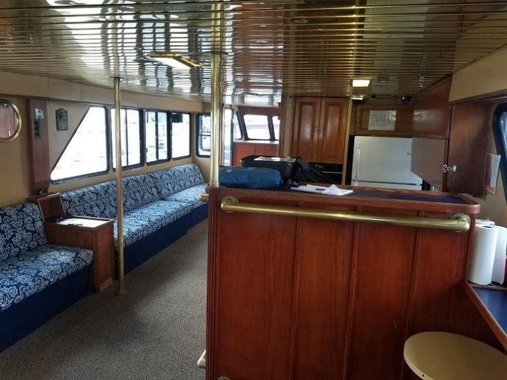 """1996   72' x 18'6""""  Aluminum 100 Passenger Vessel and Successful Tu"""