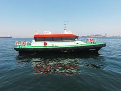 17 Meter Crew Transfer Boat Aluminum 30Pax 30knot
