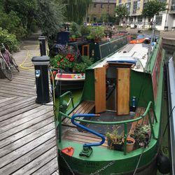 wenlock basin - narrowboat