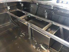 Fuel tank  Aft seat frame