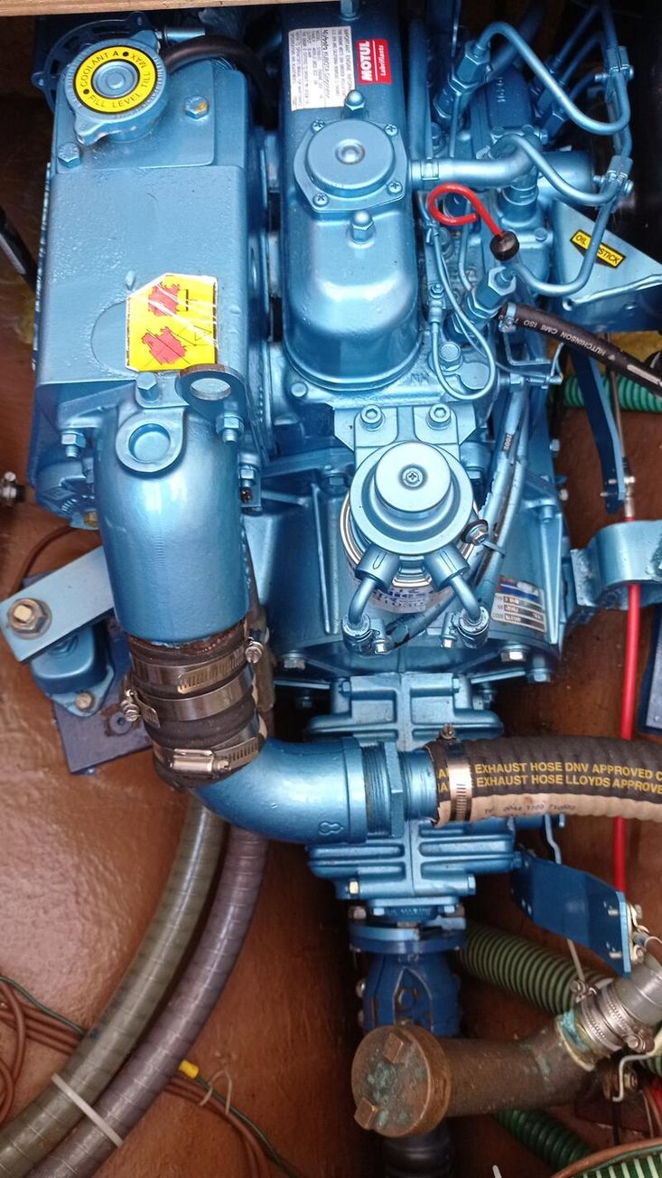 1983 Mascot 28 Motor Sailer