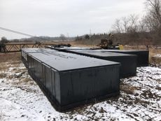 (6) 2018 New Sectional Barges Shugart Style 20 x 8 x 4