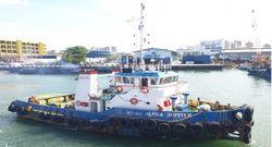 23.33m Steel Pusher Tug