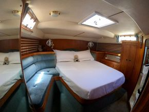 Stateroom looking to port