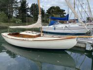 24' Classic Woodnutts Sailing Boat