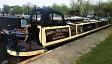 Tiger Lilly 62' Semi Trad with an option of a mooring at Saul Junction