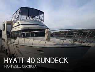 1989 Hyatt 40 Sundeck