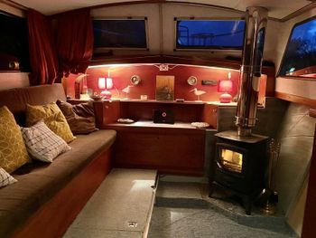 Lovely10ft Widebeam Dutch barge liveaboard canalboat houseboat