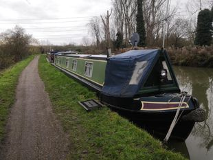 56 ft Semi-trad Narrow boat