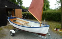 2020 NEW 12ft Smacks Boat Sailing Dinghy