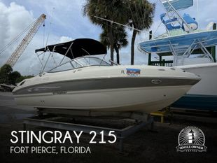 2012 Stingray 215LR Sport Deck Bowrider
