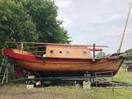 30ft. AUTHENTIC HONG KONG JUNK - 1965 * OFFERS CONSIDERED *