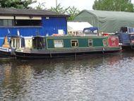 40ft Trad Stern Narrowboat built 1992 by Arcrite boats