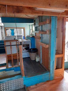 Ex Breton Tuna boat partly converted liveaboard retail shop