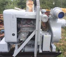 6″ Gorman Rupp diesel driven water pump