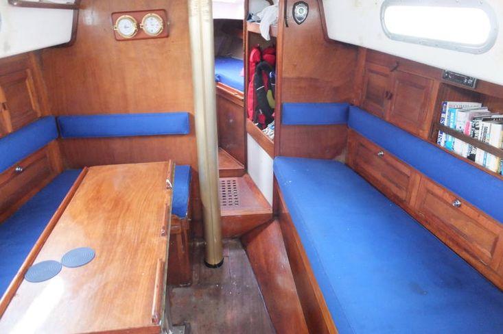 SOLD BY BOSHAM YACHT SALES Contessa 32 Dark Blue Hull