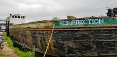 103ft Partly Converted ex Grain Barge