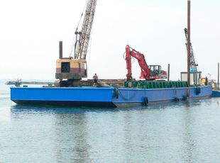2008 Flattop Barge For Sale