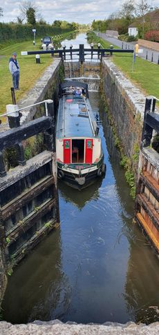 Mid beam classic luxury barge.