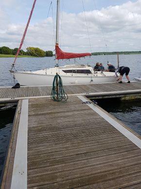 Yacht on Rutland Water