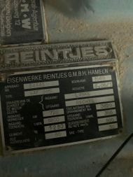 REINTJES WAF 560 - 5.05-1 SN 54445