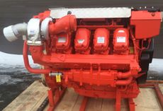900 HP SCANIA D16 NEW MARINE ENGINES