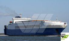 195m / 2550 lane meter RoRo Vessel for Sale / #1058121