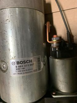 STARTMOTOR  BOSCH - 1371007 - 24 V