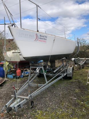 J24 Westerly 1977 Fin Keel 24' Sailboat