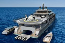 Super Yacht Shadow Boat or Dive Boat Operations