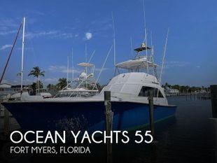 1984 Ocean Yachts 55 Super Sport
