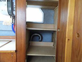 Galley - Food cupboard