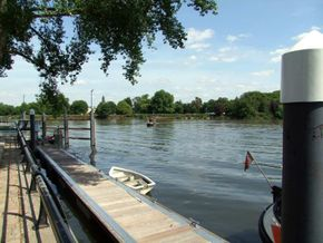 River Brent moorings
